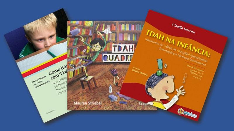 Livros sobre TDAH