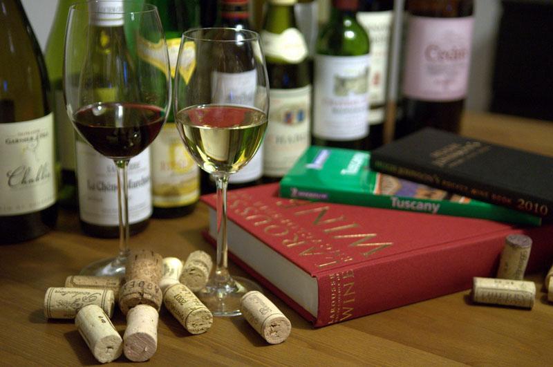 Livros sobre vinhos