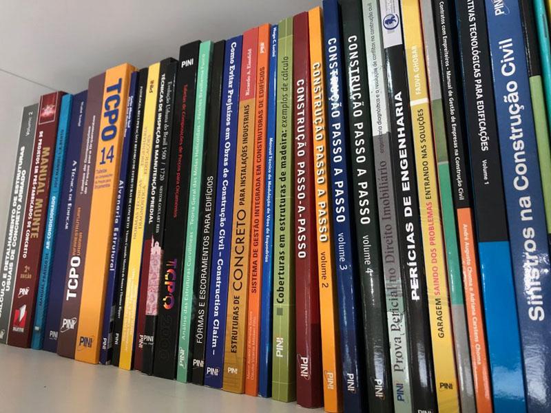 Livros sobre construção civil