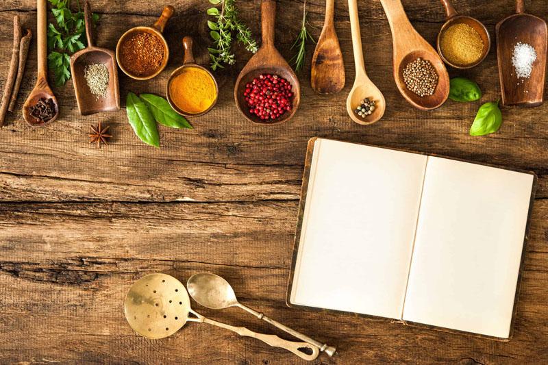 Livros sobre culinária